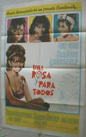 Filmplakat,Plakat,UNA ROSA PARA TODAS,EINE ROSE FÜR ALLE,CLAUDIA CARDINALE #155