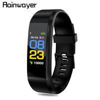 Smart WristBand Sport Watch Bluetooth Blood Pressure Heart Rate Fitness Tracker