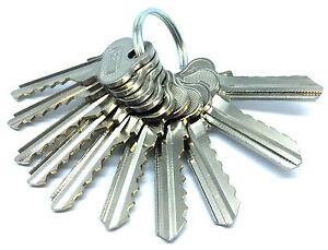 Depth & Space Fully Cut Key Set (10 Keys) for Lockwood LW4, C4
