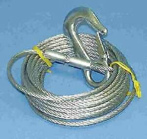 """Attwood 11003-5 Heavy Duty Winch Cable 25` X 3/16"""" 3868"""