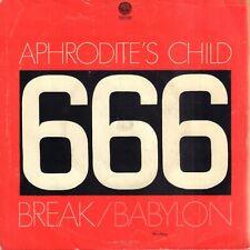 "APHRODITE'S CHILD – Break (1972 SINGLE 7"" HOLLAND VERTIGO SWIRL LABEL)"