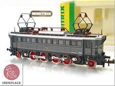 N 1:160 escala locomotive locomotora trenes Trix Minitrix 2973 E75 02 DRG <