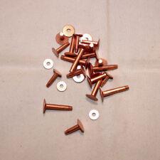 Copper Rivets and Burrs - #9 & #12 Assortment - Quantity of 30 (F232)