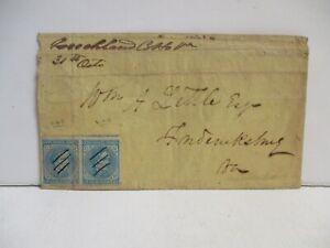 Confederate States 5 Cent Stamp, Fredricksburg Virginia