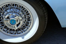 atlas white wall inserts for 16'' tyres - 3'' wide flappers hot rod hotrod