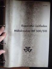 Massey Ferguson Mähdrescher MF500/510 Reparaturleitfad.