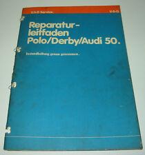 Werkstatthandbuch VW Polo I Typ 86 Derby Audi 50 Instandhaltung genau genommen
