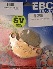 EBC SV Severe Duty Rear Brake Pads 2003-07 Suzuki LT-F500F Vinson 500 4x4 / Auto
