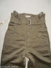 Hosengröße W28 Damen-Jeans aus Denim mit hoher Bundhöhe