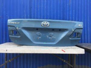 2011 2012 2013 Toyota Corolla LE Trunk Lid OEM
