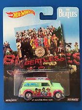 2016 Hot Wheels The Beatles Sergeant Pepper's Lonely Hearts 1967 Mini Van MINT