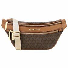 Michael Kors Kenly Signature Medium Waist Pack Belt Bag 35T9GY9N8B Brown