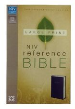 Zondervan NIV, Reference Bible, (2011, Imitation Leather, Special) Large Print