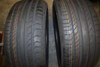2x Continental Reifen Sommer ContiSportContact 5 245 40 ZR20 99Y bj2015