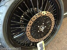 "23"" X 3.5""- 52 SPK MAMMOTH HD FLHX S/G WHEEL AVON COBRA B/W 130/60-23"" TIRE NEW"
