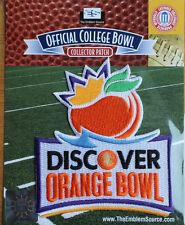 2014 Orange Bowl Ncaa Football Patch Clemson Tigers - Ohio State Buckeyes