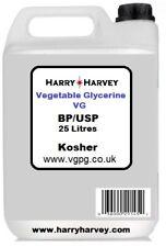 25 L VG VEGETABLE GLYCERINE Glycérol glycérine USP BP E422 vapotage 25 L 25 L