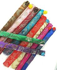 4 JAPANESE MIX COLOR DESIGN CHOPSTICKS CASE POUCH BAG COVER CHINESE PARTY A6