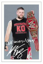 KEVIN OWENS WWE WRESTLING SIGNED PHOTO PRINT AUTOGRAPH