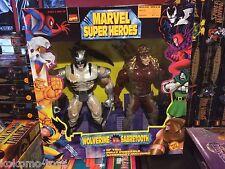 "1997 ToyBiz Marvel Super Heroes 10"" Inch Figure Doll MIB - WOLVERINE SABRETOOTH"
