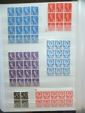 GB. Regionals. MNH. Blocks.  Lovely clean condition. Unchecked.