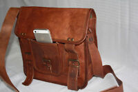 Coach Leather Messenger Bag Brown Distressed Leather Briefcase Laptop Messenger
