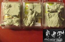 Scibor OGGU0020 Ogres Gunners (3) Miniatures Mercenaries Ogre Warriors Guners