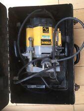 Dewalt DW625E Router 240v Used In Metal Dewalt Case