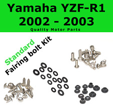Fairing Bolt Kit body screws fastener for Yamaha YZF R1 2002 - 2003 Stainless