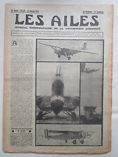 AILES 1935 710 FARMAN LATECOERE 521 DIESEL AIR BLEU JOUET MADAGASCAR VOL A VOILE