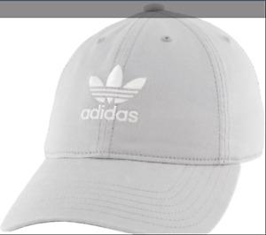 Adidas Originals Women's Relaxed Strapback Hat Stone EV7989