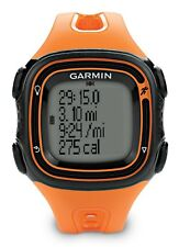 Garmin Forerunner 10 GPS Reloj Deportes/para correr, Grande Nuevo (naranja) 010-01039-16