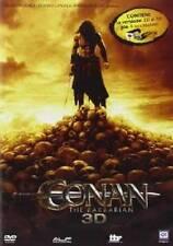 Dvd CONAN THE BARBARIAN - (3D) (Dvd+Dvd 3D+Occhiali)  ......NUOVO