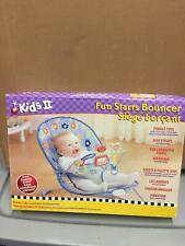 Kids II Fun Starts Bouncer Learn Through Play Birth to 25 lbs