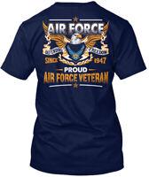 Latest Air Force Veteran Hanes Tagless Tee T-Shirt Hanes Tagless Tee T-Shirt