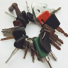 30 Keys Heavy Equipment / Construction Ignition Key Set Kubota CAT Volvo Case JD