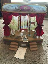 Angelina ballerina, Alice, Polly, Henry, stage. piano, clothes, storage, 9 books