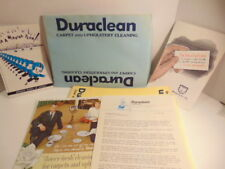 1960's1 business franchise literature:  Dura Clean Carpet & Upholstery cleaning