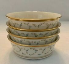 "LENOX AMANDA Dimension SET OF 4 INDIVIDUAL SALAD BOWLS 5 3/8"" Cereal Perfect USA"