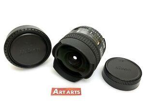 【 EXCELLENT+++++ 】 Nikon AF Fisheye Nikkor 16mm f/2.8 D Lens F Mount from JAPAN