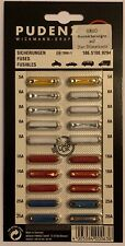 Sortiment Kfz - Sicherungen, Rundsicherungen 20-teilig