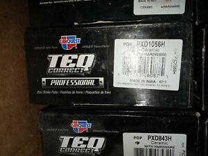 CARQUEST TEQ Professional Brake Pads PXD1056H Front Premium Ceramic Brakes
