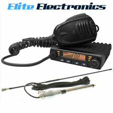 CRYSTAL DB477C PROFESSIONAL 80 CHANNEL UHF CB RADIO WITH MULTI-FUNCTIONAL MIC