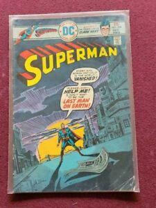SUPERMAN  # 294 FINE COMIC BOOK-1975