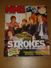 NME 2002 NOV 16 STROKES TENACIOUS D DATSUN EMINEM OASIS