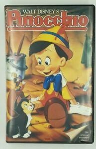 PINOCCHIO - WALT DISNEY HOME VIDEO BLACK DIAMOND -VHS VIDEO TAPE