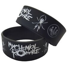 My Chemical Romance 25mm Silicon Rubber Wristband