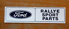 Ford Rallye Sport Parts RS Escort Fiesta Rally Race Motorsport Sticker / Decal