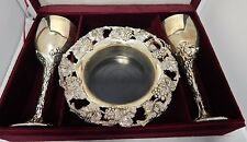 Silver Treasures By Godinger 5 Piece Silver Wine Set With Box (Very Very Rare)