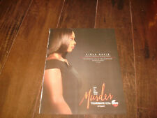 HOW TO GET AWAY WITH MURDER 2017 Golden Globe, SAG ad Viola Davis as Annalise